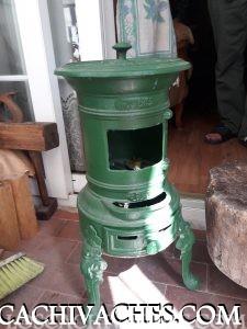 Estufa al carbón de hierro