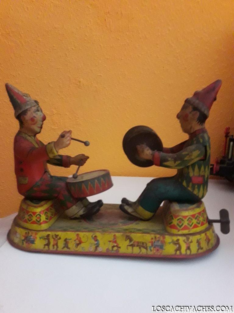 juguetes antiguos lata año 1900