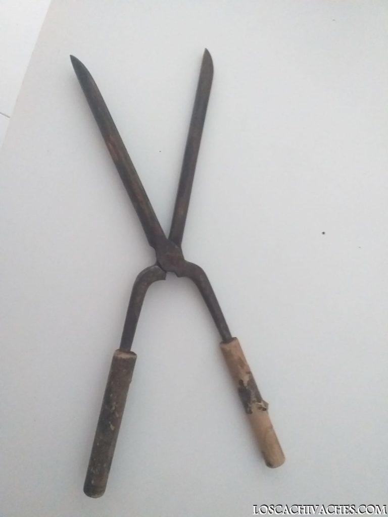 Pinzas, Tenazas de peluquería antiguas para rizos y tirabuzones