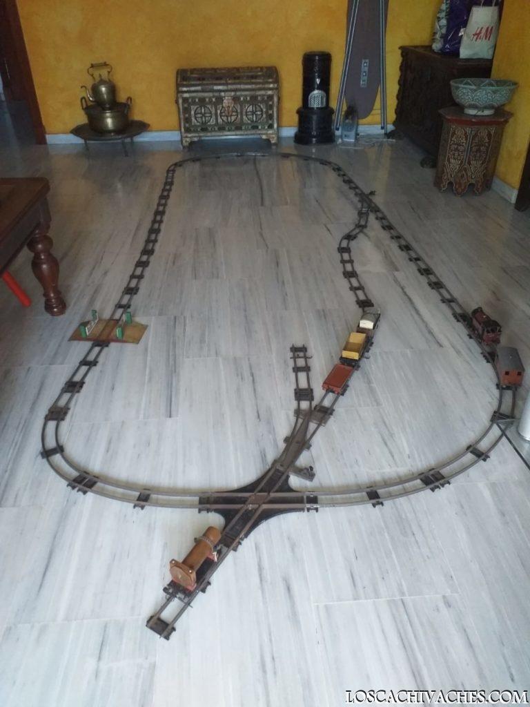 trenes antiguos,juguetes,
