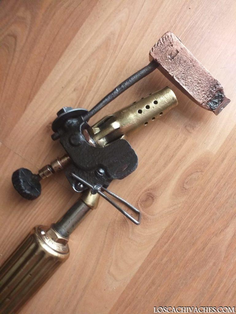 soldador soplete antiguo herramientas antiguas