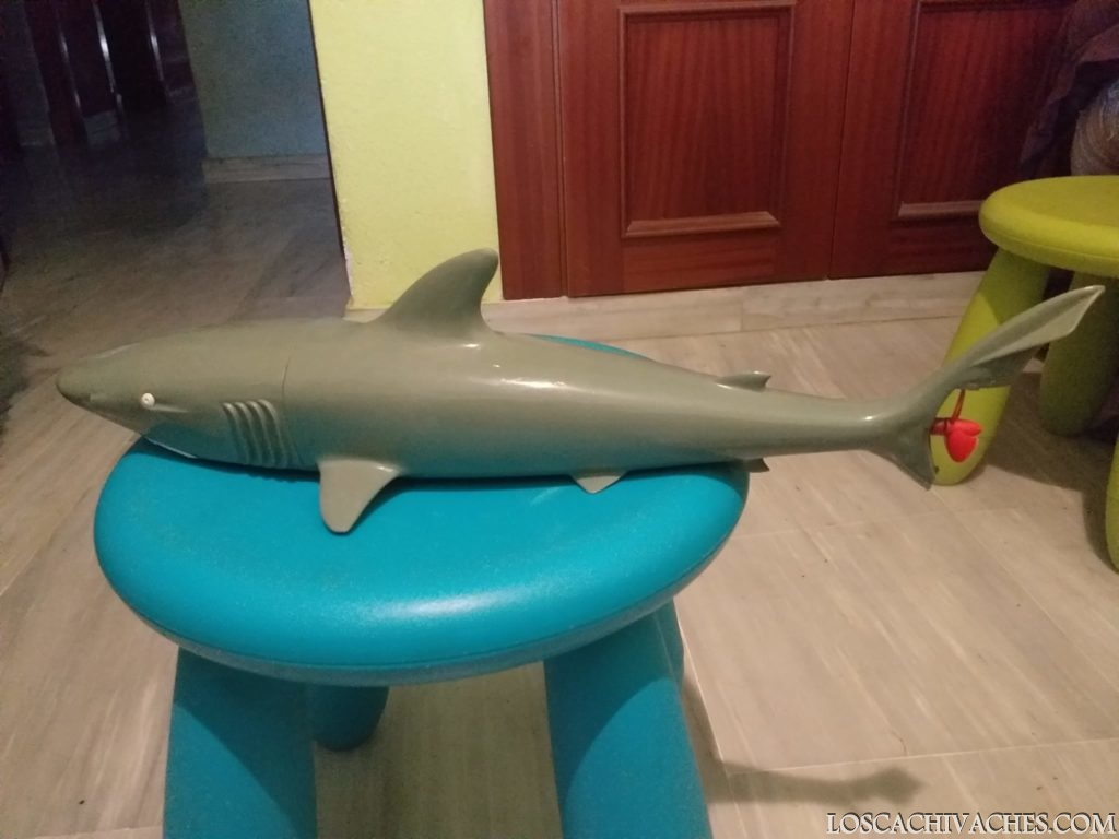 tiburon, juguetes años 70, cachivaches