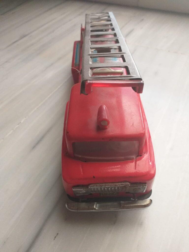 cachivaches camiones bomberos, hojalata, juguetes antiguos, colección 4
